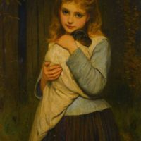 Foster Mother by Charles Sillem Lidderdale