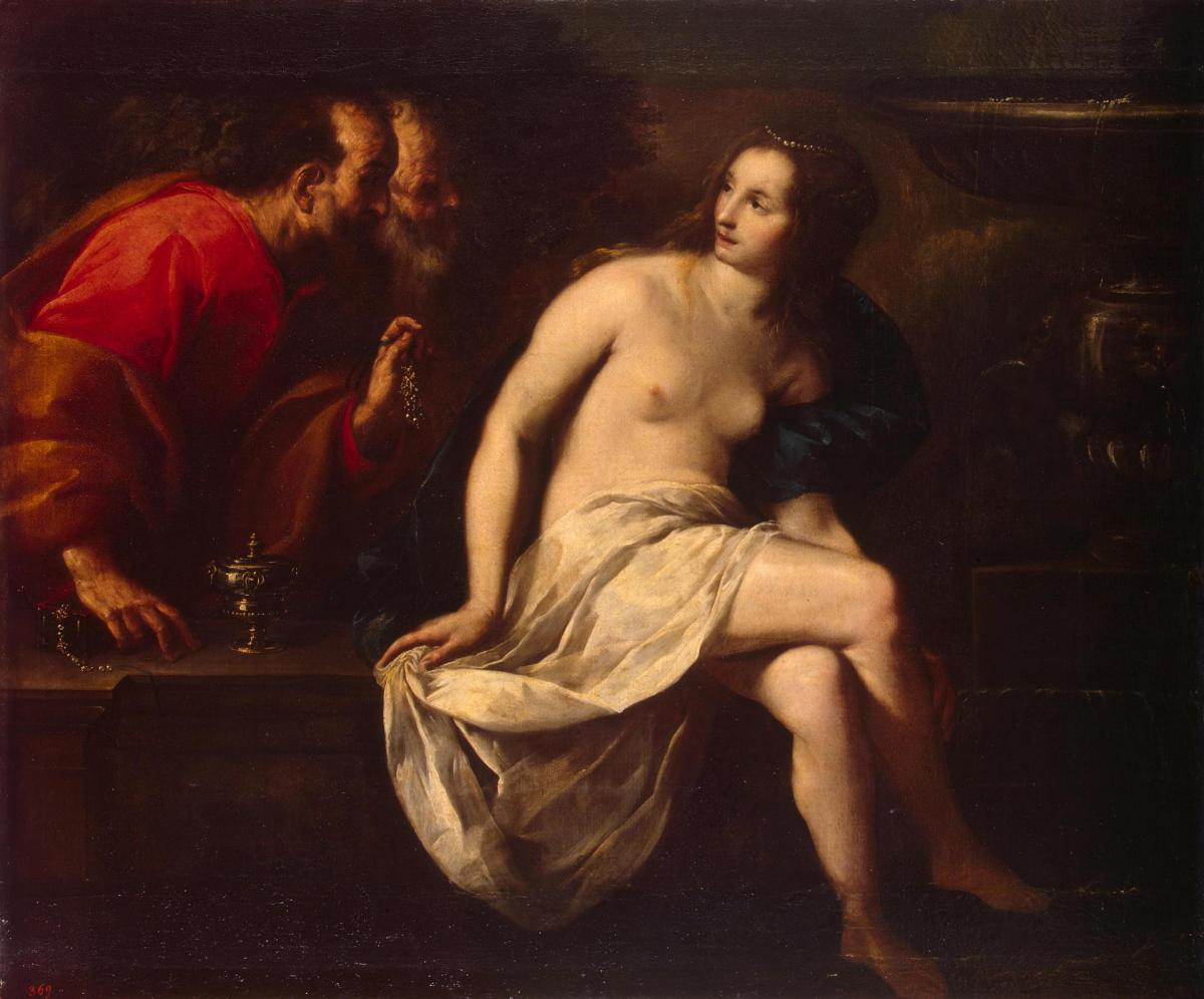 Susanna and the Elders by Guido Cagnacci