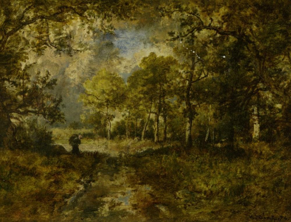 The Forest of Fontainebleau by Narcisse Virgile Diaz de la Pena