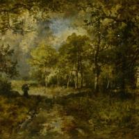 The Forest of Fontainebleau by Narcisse Virgile Diaz de la Pena