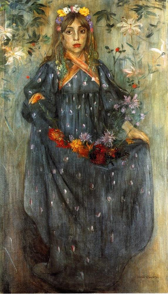 Autumn Flowers by Lovis Corinth