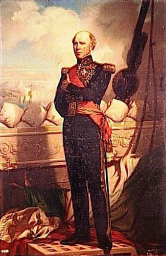 Charles Baudin, Amiral de France by Charles Zacharie Landelle