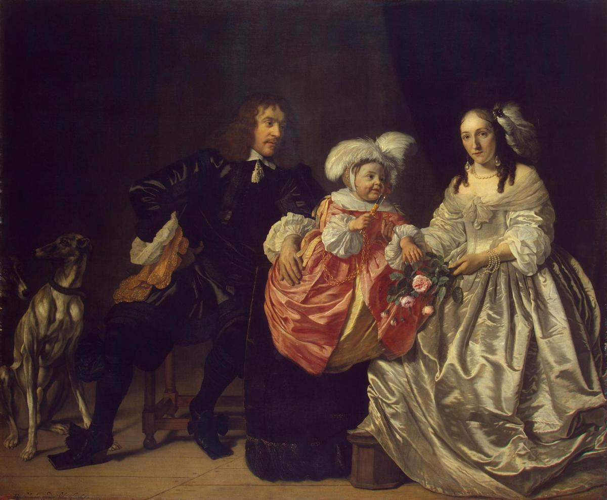Family Portrait by Bartholomeus van der Helst