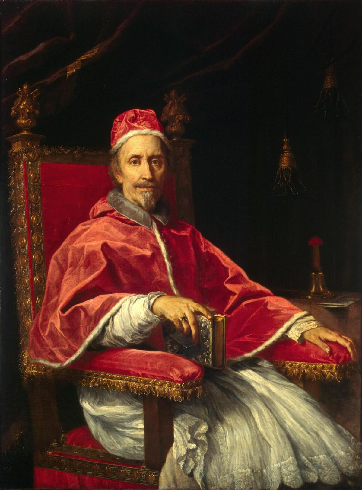 Portrait of Pope Clement IX by Carlo Maratti