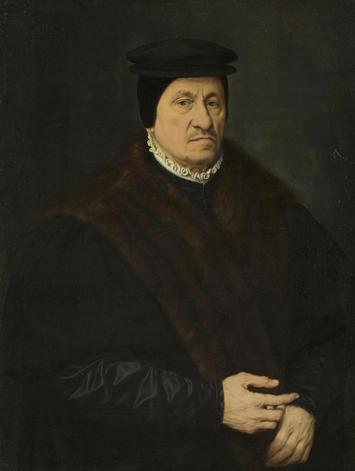Portrait of a Patrician by Nicolas Neufchatel