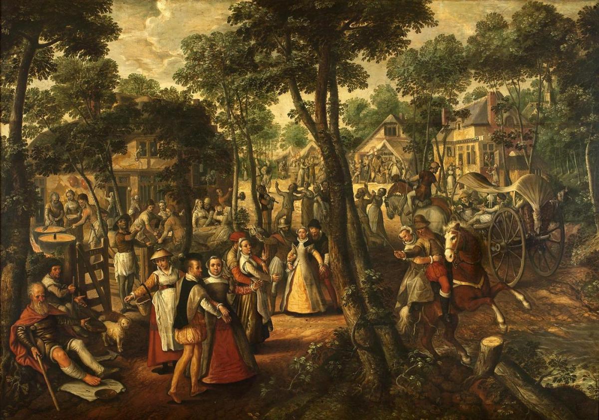 Village Feast by Joachim Beuckelaer