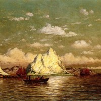 Arctic Harbor by William Bradford