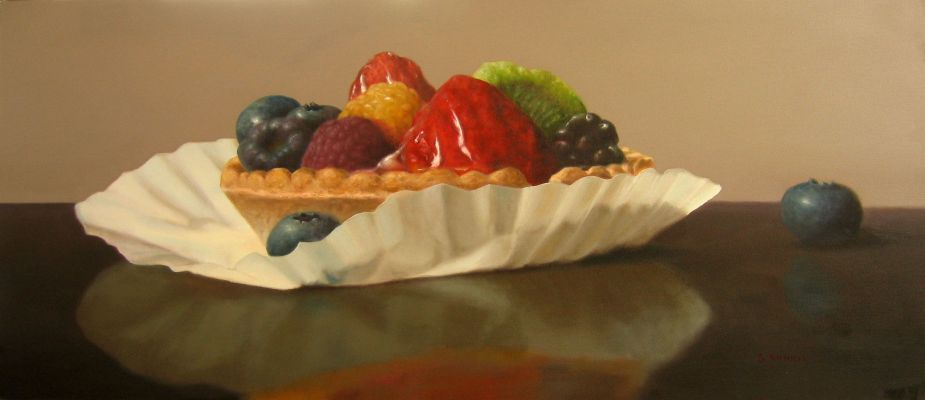 Blueberry Tart by Stuart Dunkel