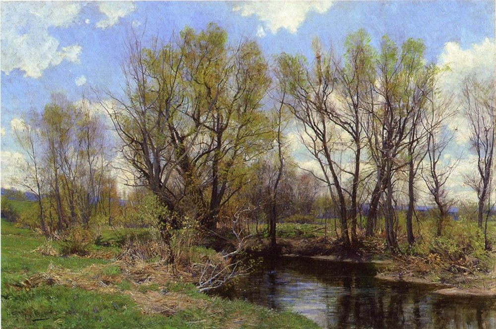 Early Spring, Near Sheffield, Massachusetts by Hugh Bolton Jones