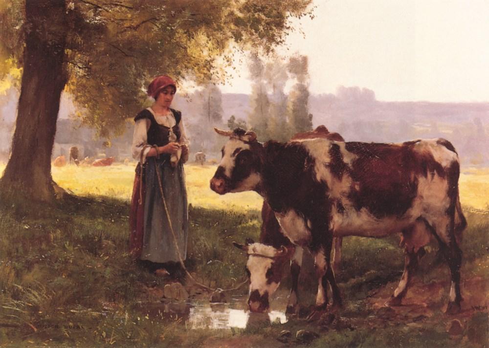 La Vachère by Julien Dupre