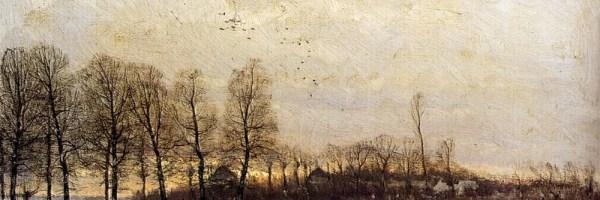 Zonsondergang by Louis Apol