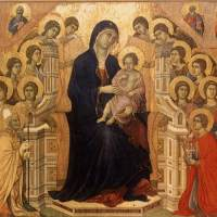 Maestà by Duccio di Buoninsegna