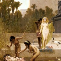 The Finding of Moses by Frederick Goodall