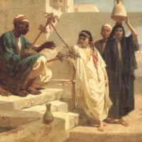 The Song of the Nubian Slave by Frederick Goodall