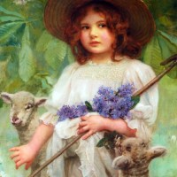 Little Bo Peep by Arthur John Elsley