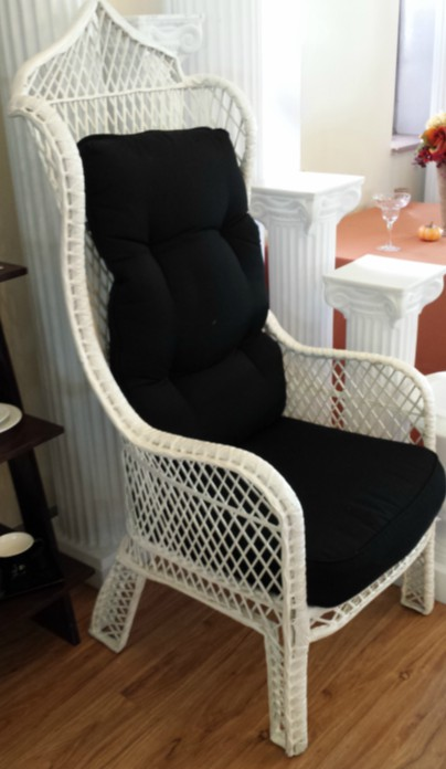 king and queen chairs for rent hanging ball chair white art pancake party wedding rental