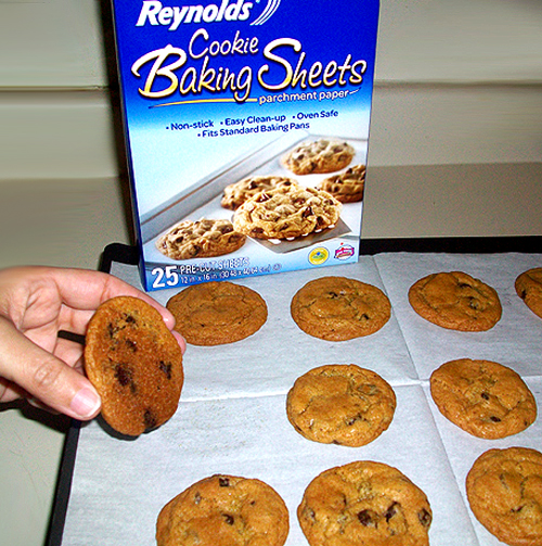 Reynolds Cookie Baking Sheets - No Burnt Bottoms and Easy Clean Up