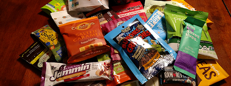 Items in the Great Kids Healthy Snacks Subscription Box