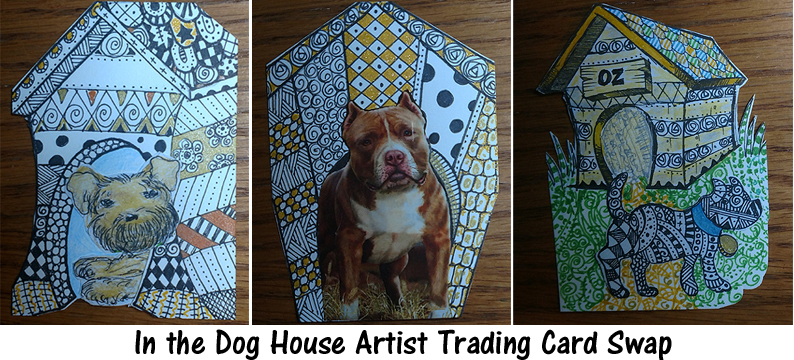 In the Dog House Artist Trading Card Swap - ATCs for All