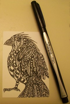 Sharpie Bird