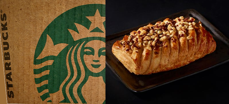 Starbucks Chocolate Hazelnut Croissant