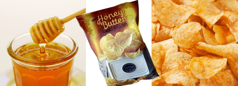 Trader Joes Honey Butter Potato Chips