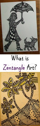 What is Zentangle Art - Artist Trading Cards