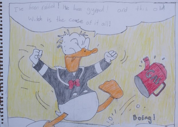Donald Duck by Daniel McLachlan