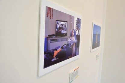 View 1 of Photo + Story exhibition. Photo by Carensa Watts
