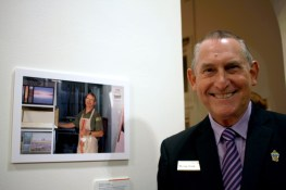 Murray Cook at Photo + Story opening
