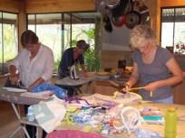 Jo Williams, Claire Pendrigh Elliott and Helen Seiver