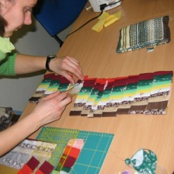 bargello kurz patchworku