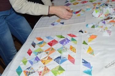kurz patchworku taštička