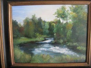 """Betty Ann Wiens 2012 Oil 19"""" * 16"""""""