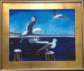 "Dean Koutsky 2013 Oil on canvas 16"" * 20"""