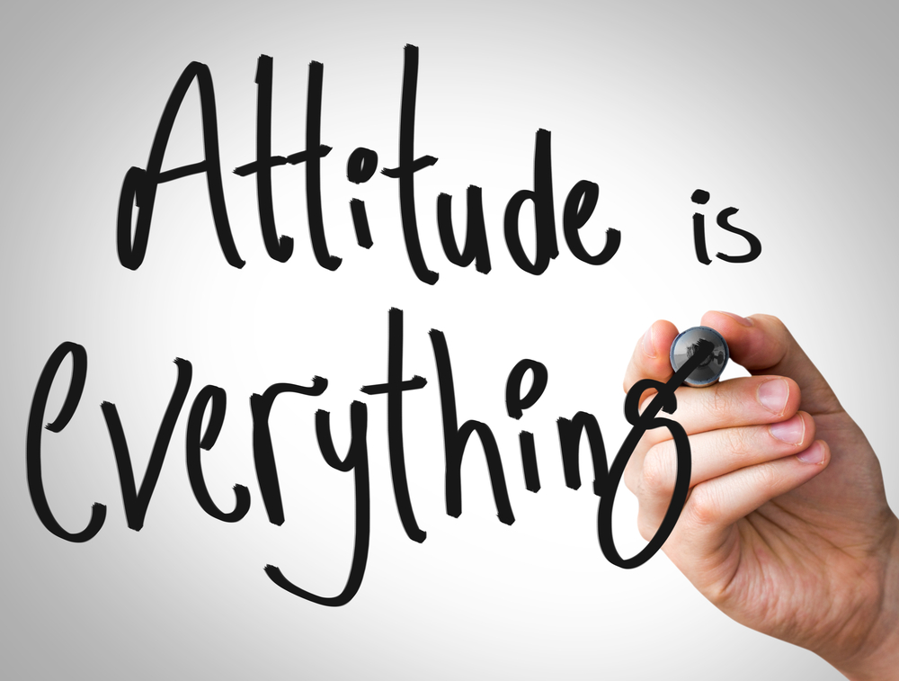 Written Text: Attitude is Everything