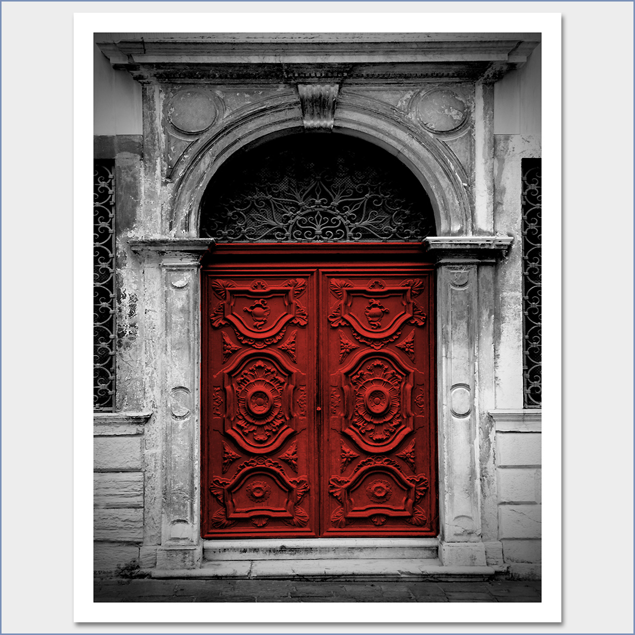 Black White And Red Art Photo Web Studio