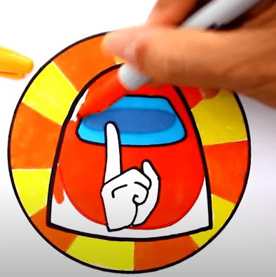 FireShot Capture 282 How to draw AMONG US SHHHHHHH Game Start Logo YouTube www.youtube.com