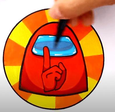 FireShot Capture 288 How to draw AMONG US SHHHHHHH Game Start Logo YouTube www.youtube.com
