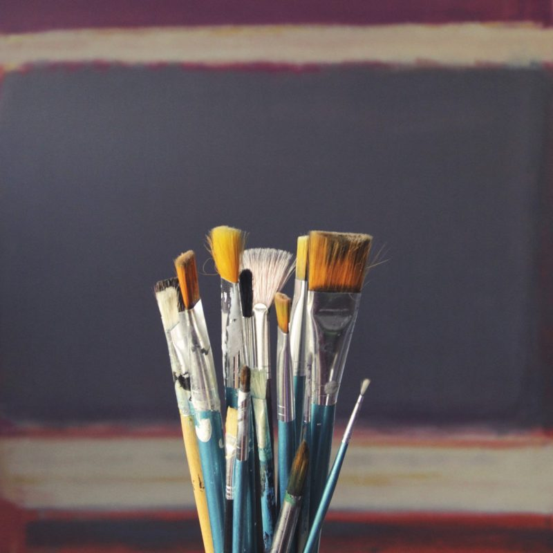 How to paint with acrylic paint