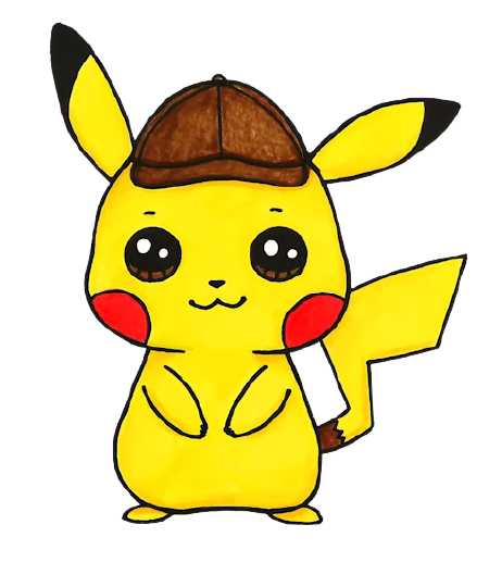 How to Draw Pokemon Detective Pikachu 0 43 screenshot removebg preview