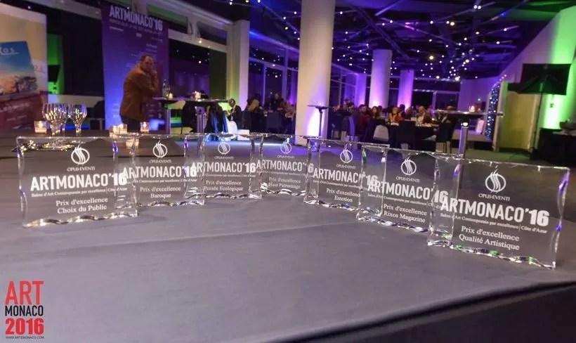 Art Monaco Awards Trophy