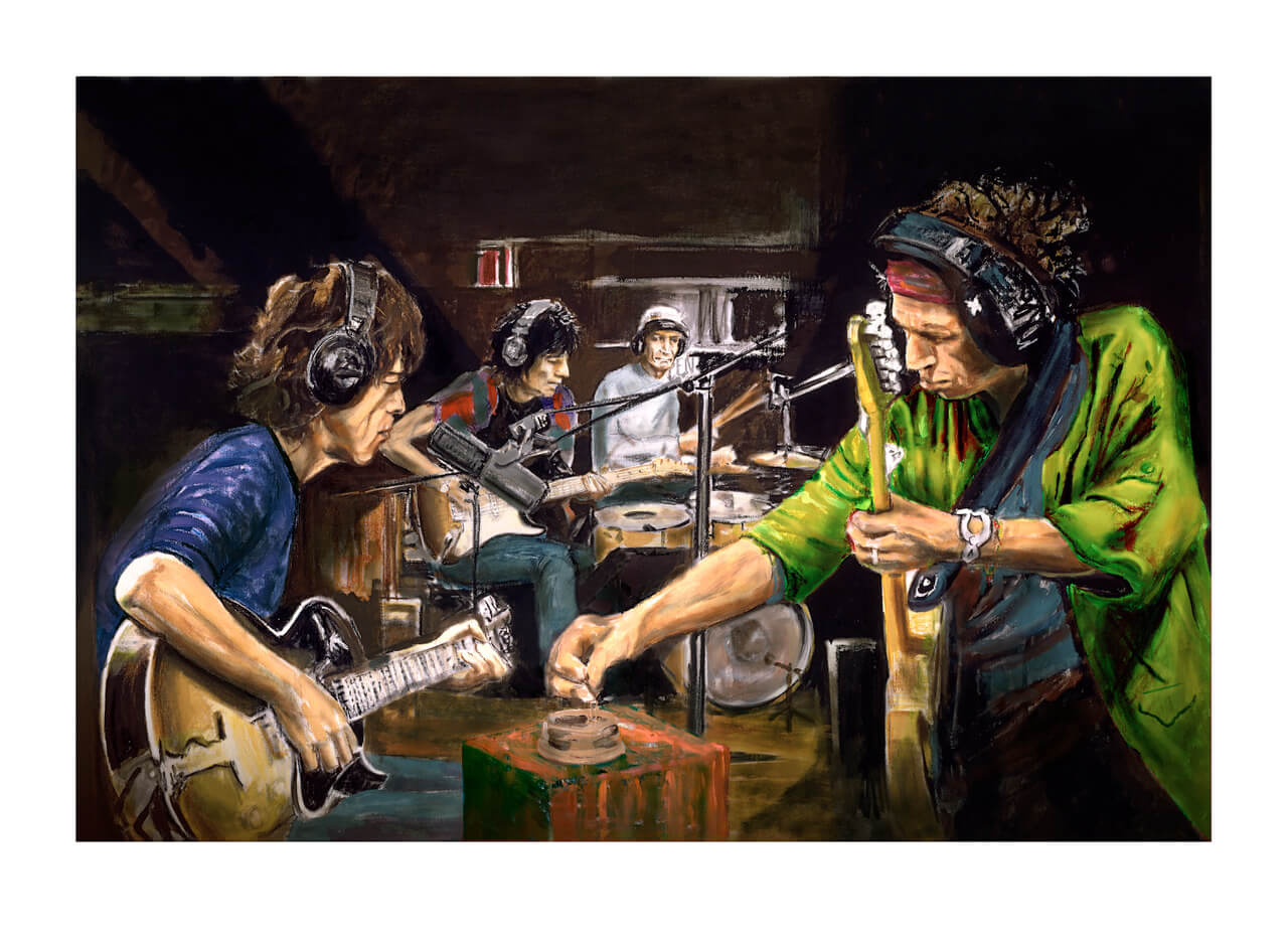 RONNIE WOOD RELEASES NEW UNSEEN LIMITED EDITION PRINTS | Art Plugged