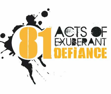 81 Acts of Exuberant Defiance launches artistic community-led cultural programme | Art Plugged