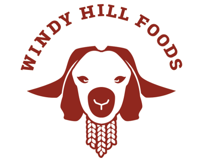 Branding design by graphic Designer Jess Rose Clark. Windy Hill Foods
