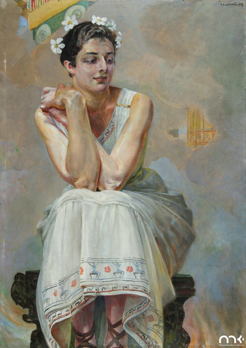 Jacek Malczewski: La Pythie. 1917.
