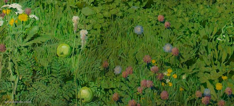 Józef Mehoffer: Le Jardin Étrange. 1903 (détail).