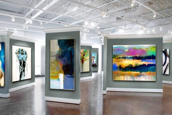 Chicago Original Art Dealer Abstract Modern