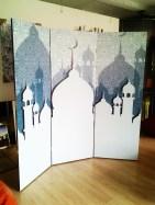pembatas ruangan islami
