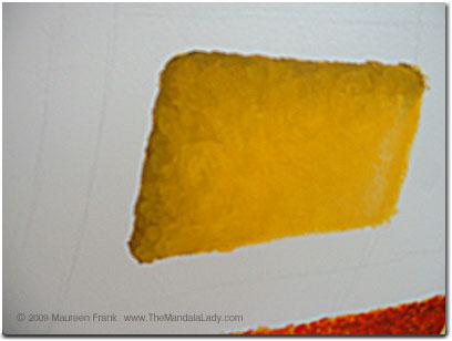 Darker Yellow Section